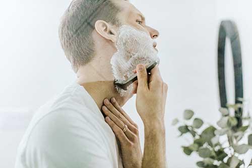 Lait de rasage apaisant naturel